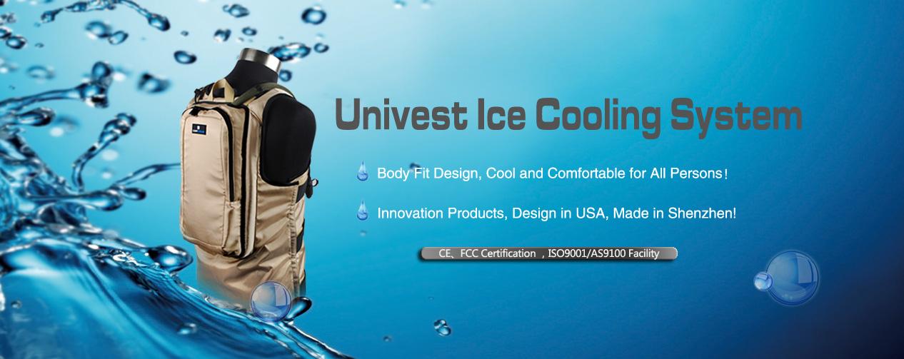 Backpack compressor body cooling system, liquid cooling vest